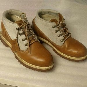 Rare vintage timberland waterproof leather boots